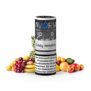 Crazy Jamaica E-Liquid 10ml 0 mg
