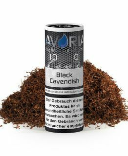 Black Cavendish E-Liquid 10ml 0 mg