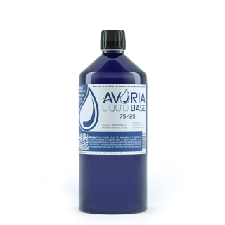 Avoria - Liquid Base VPG 75-25 1 Liter