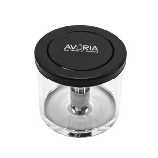 Avoria - E-Shisha Ersatzglas Schwarz