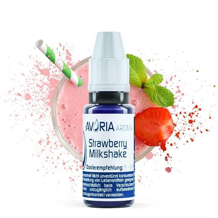 Aroma Strawberry Milkshake 12ml