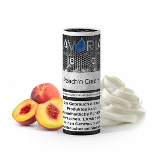 Peach'n Cream E-Liquid 10ml 0 mg