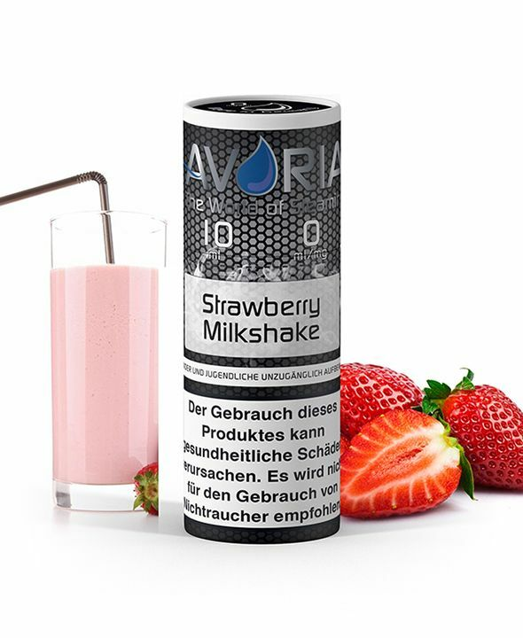 Strawberry Milkshake E-Liquid 10ml